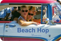 Beach Hop - one of many events in Whangamata